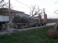 trasporto tigli su camion